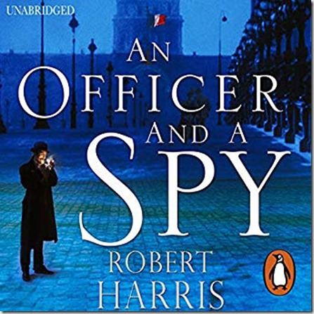Audible cover for Officer and a Spy