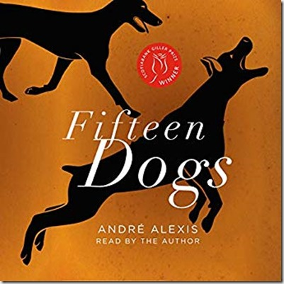 Audible cover of Fifteen Dogs